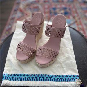 Tory Burch wedge heels, size 39
